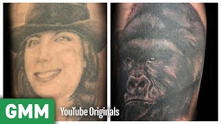 5 Amazing Tattoo Cover Ups