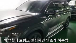 /팰리세이드/차박/캠핑/유용한팁/트렁크/SUV
