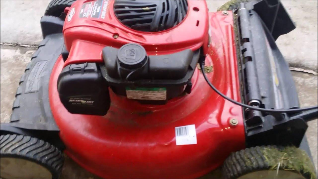 medium resolution of troy built tb110 tb200 craftsman 550 ex push mower carburetor cleaning