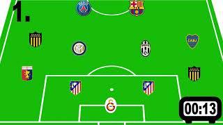 Hangi Dünya Kupası Takımı Bu? | Futbol Bilgi Yarışması #1
