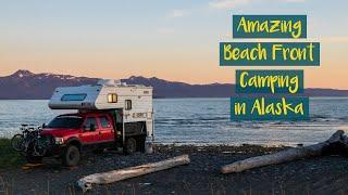 TRUCK CAMPER LIFE:  CAMPING at HOMER SPIT Alaska // CtW S1:E32