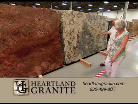 Chicago Granite Countertops | Granite In Aurora, IL (near Naperville, IL) |  Heartland Granite