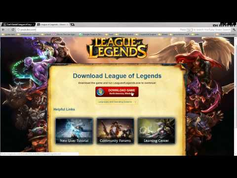 "League of Legends error; PART 1 Pando Media booster fix ""System not allowing access to server"""