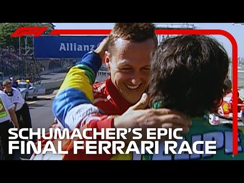 Schumacher&39;s Last Ride for Ferrari   Brazilian Grand Prix