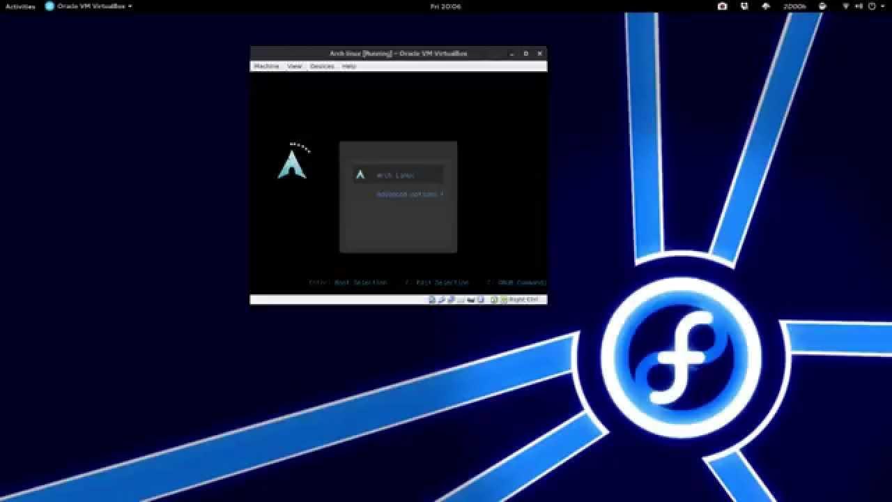 Grub theme for Arch linux