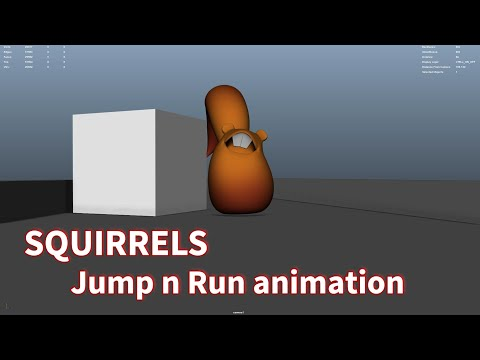 Squirrels Jump n Run - Animation Breakdown [3D]