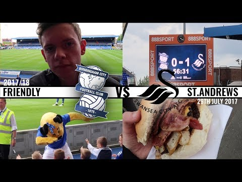 An Adventure Out Of Non League - Matchday Vlog #2: Birmingham City vs Swansea