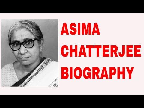 Asima Chatterjee Biography