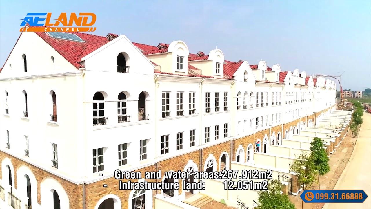 [Flycam]  Liền kề biệt thự, dự án Nam An Khánh Sudico 2019 I AELAND Channel