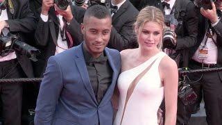 Doutzen Kroes, husband DJ Sunnery James and Liya Kebede at the opening ceremony of the Cannes Film F
