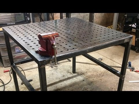 DIY Weld Table and Clamps: Home Mfg. Days #64