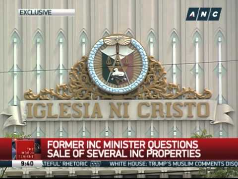 Former INC minister questions sale of church properties