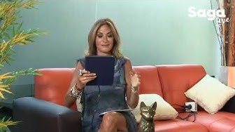 #SagaLive 15 agosto 2017 Aleks Syntek y Gali Diva con Adela Micha