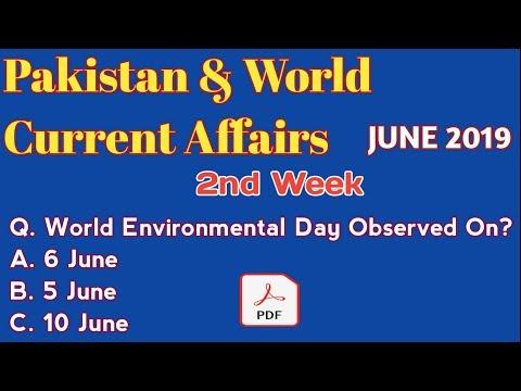 Current Affairs 2019|| Pakistan & World Current Affairs