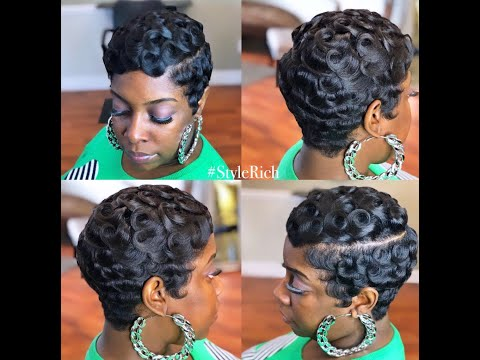 How to Slay Pincurls on shorthair