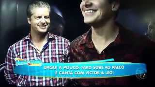 Victor e Leo -Intimidade da Dupla!! Programa Hora do Faro 28/06/15