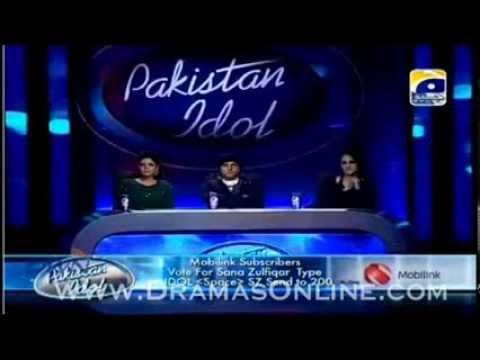 Sana Zulfiqar in top 24 singing very nice song Pakistan Idol