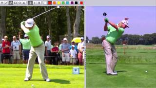 Swing Analysis - Charley Hoffman - Slow Motion Swing Analysis