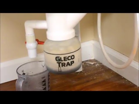 How To Clean Out A Gleco Sink Trap In My Home Studio Youtube