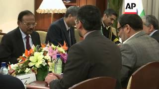 India's security chief meets Iranian president