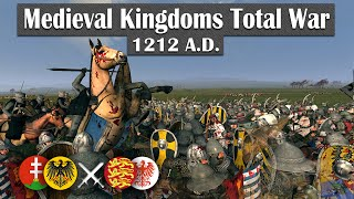 The Front lines! - Medieval Kingdoms Total War 1212AD (2v2 Online Battle #2)