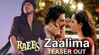 Zaalima Song Releases ft. Shahrukh Khan, Mahira Khan