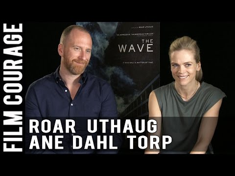 European Character Film Meets Hollywood Disaster Blockbuster THE WAVE  Roar Uthaug & Ane Dahl Torp