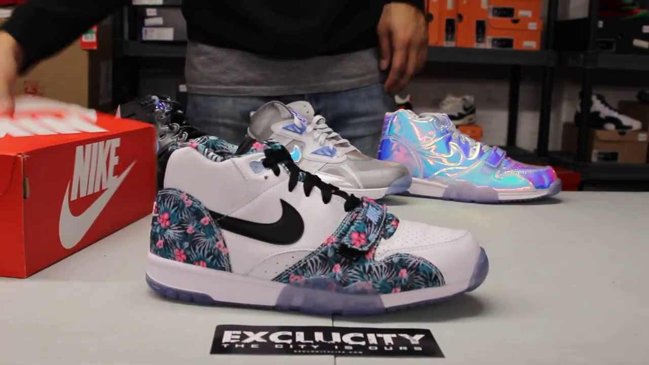 "nike Griffey jr ken chaussures enfants - Nike Air Trainer 1 Mid Prm PB QS ""Pro Bowl"" Unboxing Video at ..."