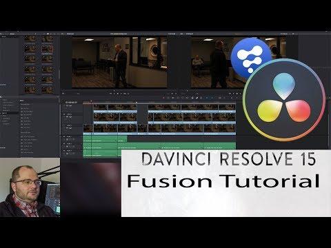 Davinci Resolve 15 - Fusion Intro and Rotoscoping