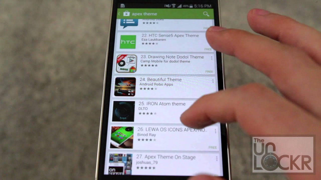How to Change the Icons/Theme on Your Android Device - YouTube
