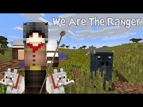 Minecraft Map We are The Ranger Part 1 รับหน้าที่เป็นเจ้าหน้าที่รักษาป่าไม้