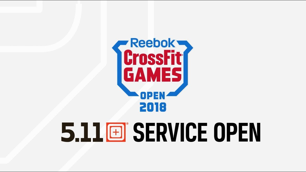 Crossfit Games 2018 5 11 Service Open