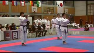 KARATE DM 2011 (DKV) Kata Team Herren KD Lich vs. SC Judokan Frankfurt
