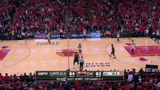 Cleveland Cavaliers vs Chicago Bulls game 4 NBA EC semifinals