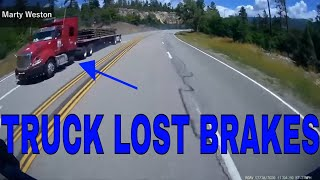Day in the Life of a Truck Driver-Bad drivers,Driving fails -learn how to drive #4