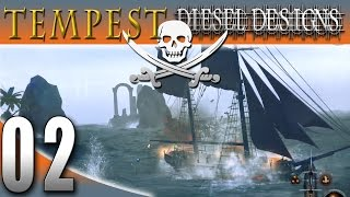 Let's Play Tempest: EP2: No Cannonballs?! (Open World Pirate Game 1080)