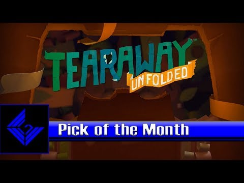 SONY COMPUTER ENTERTAINMENT PRESENTS... - Tearaway Unfolded Gameplay