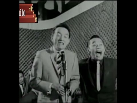 Dolphy & Chiquito, the stand-up comedians. 1960's movie.: Dolphy & Chiquito,the funny duo in comedy show after WWII.