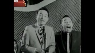 Dolphy & Chiquito, the stand-up comedians. 1960