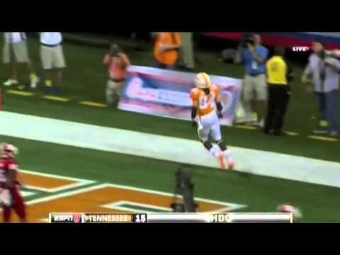 Tennessee WR Cordarrelle Patterson vs North Carolina State ᴴᴰ