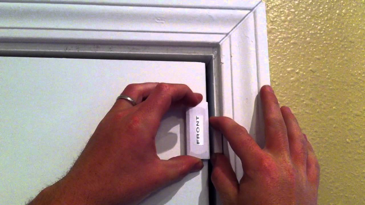 Adt Alarm Door Sensor How To Replace A Battery In A
