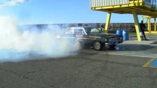 '65 Buick Skylark - TJ burnout at NB Dragway - May 2017