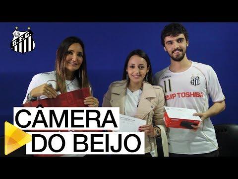 É O AMOR! Santos FC premia casais apaixonados no intervalo do clássico