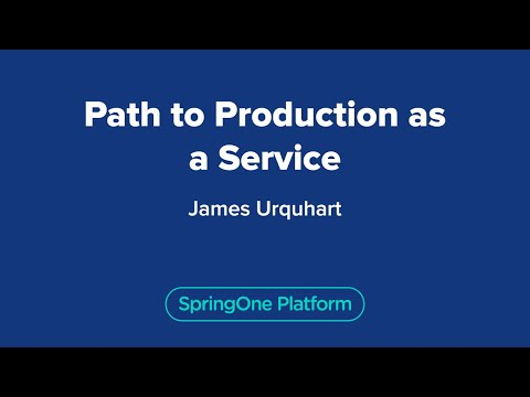 James Urquhart: Path to Production as a Service