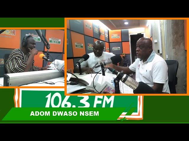 FISHERY IN GHANA - DWASO NSEM PANEL DISCUSSION on Adom FM (15-3-19)