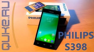 обзор на смартфон Philips S398