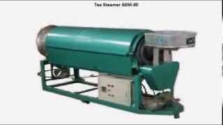 GEM GREEN TEA MACHINERY & ORTHODOX TEA MACHINERY