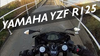 Yamaha YZF R125 Riding Home From School