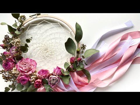 КАК СДЕЛАТЬ #ЛОВЕЦСНОВ? 💗 DREAM CATCHER DIY 💗 Annet In Flowerland
