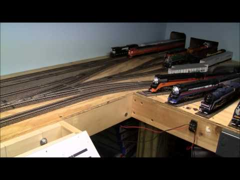 How to build a train layout in a small space